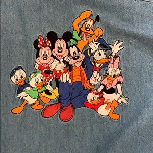 Disney store denim shirt